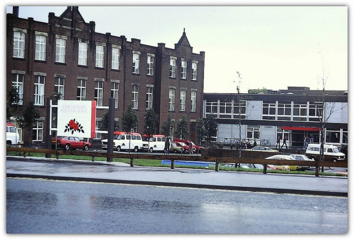 The Lancashire Poly in 1985 Pic: Ian Thacker via the Preston Digital Archive