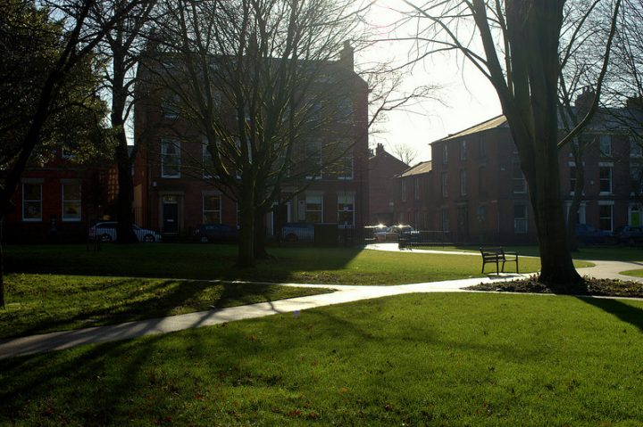 A chance to explore Winckley Square - pictured in the winter sunshine Pic: Tony Worrall