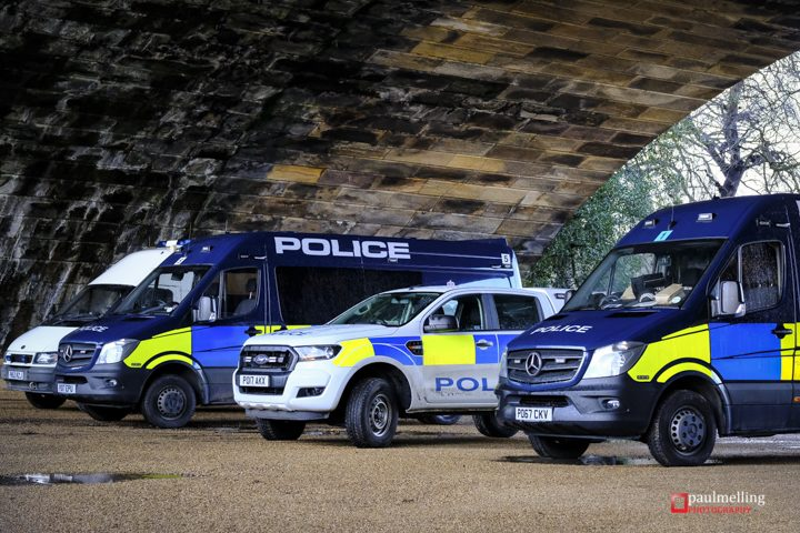 Police presence in Avenham Park as the search for Michael Brookes continues Pic: Paul Melling