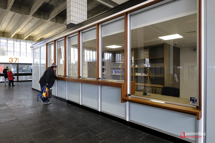 The Bus Station's revamped information centre Pic: Paul Melling