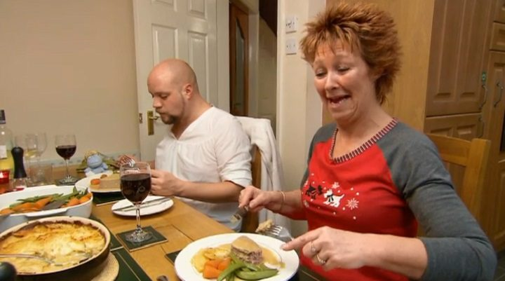 A previous Preston episode of Come Dine With Me