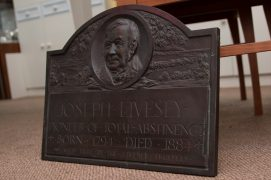 The Joseph Livesey plaque