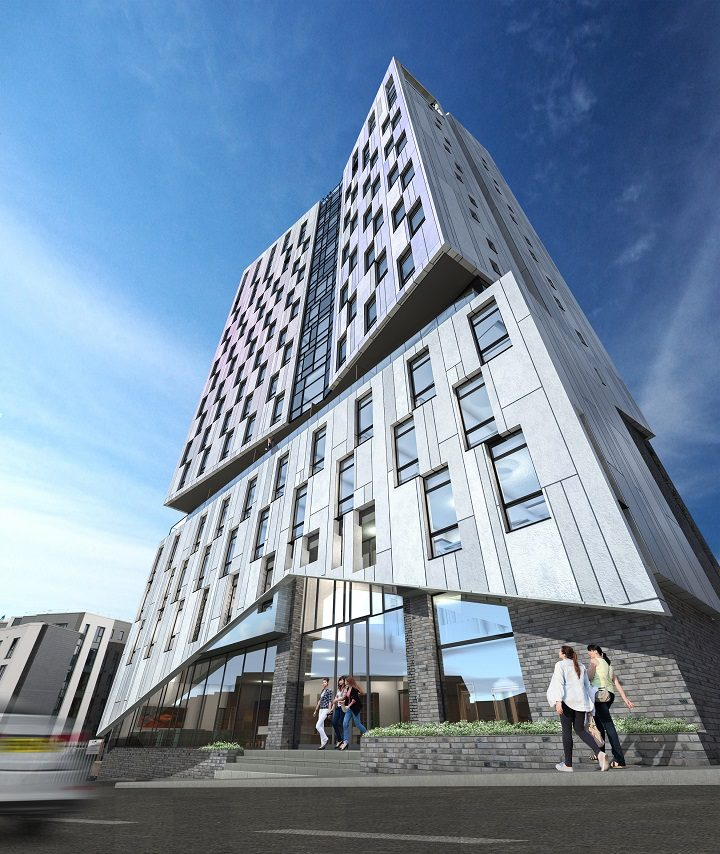 How the new student skyscraper could look