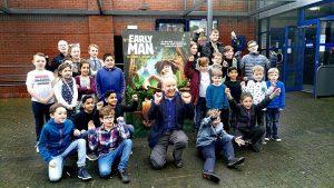 Nick Park at the Odeon in Preston Docks Pic: Benny Mc'Nally