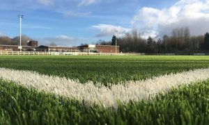 The new artificial pitch at Preston Grasshoppers