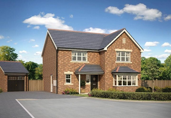 The style of family home proposed for the site