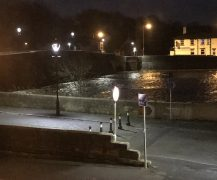 The Ribble at Broadgate shortly after midnight on Wednesday Pic: Neetal Parekh