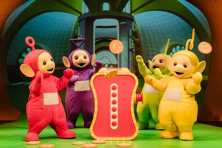 The Teletubbies live show has been popular in London and Manchester Pic: Dan Tsantilis
