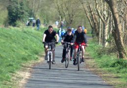 Riders on the Guild Wheel Pic: Tony Worrall