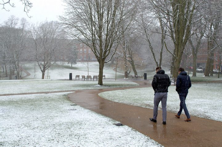An icy Winckley Square Pic: Tony Worrall