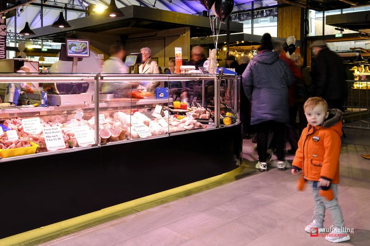 Inside the city's new market Pic: Paul Melling