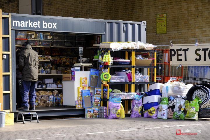 One of the Box Market traders Pic: Paul Melling