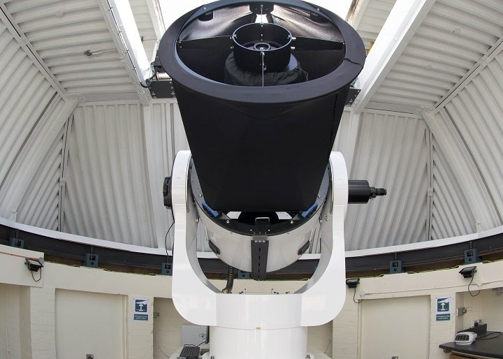 The telescope at the Alston Observatory