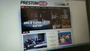 The Preston Hub site has launched