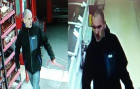 CCTV pictures of the man police want to speak to