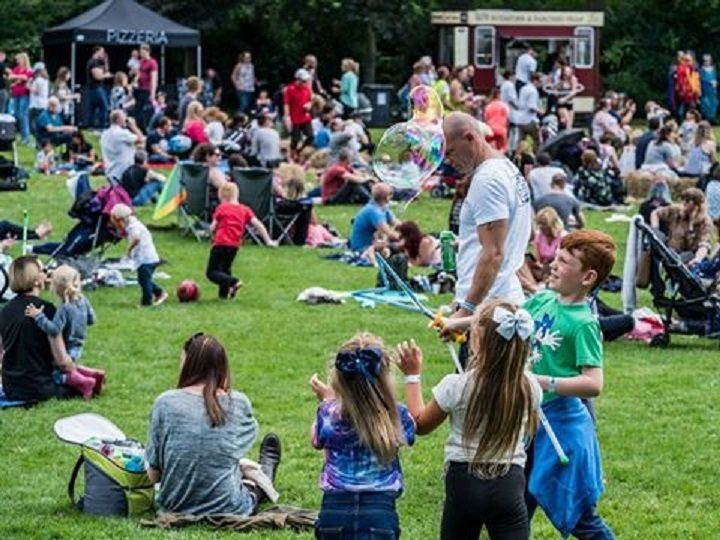 Last year's festival - in Avenham and Miller Park - attracted a good crowd