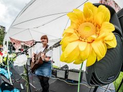 Performing at The Lancashire Festival
