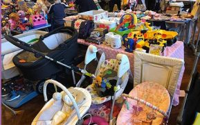 Some of the items at a previous Boutique Baby Sale