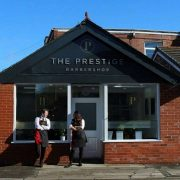The new barbers in Priory Lane