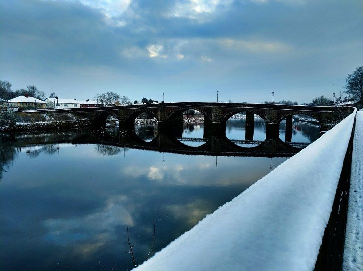 A very cold looking River Ribble Pic: Chris Hough