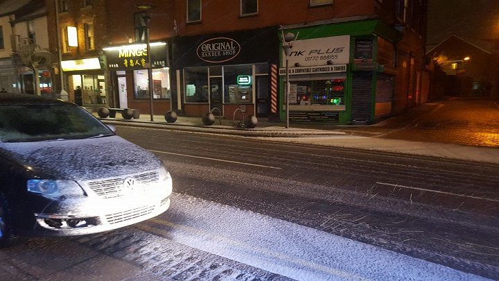 Friargate with a dusting Pic: Luke Beardsworth