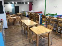Inside the Tiny Teacups cafe