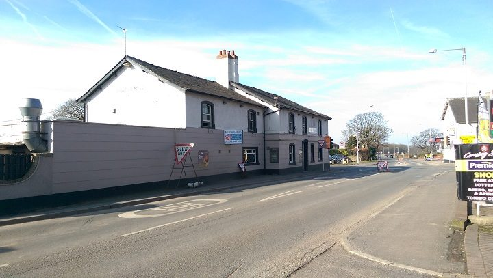 Another view of the Indian restaurant on the Broughton crossroads