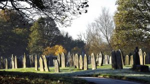 Preston Cemetery which borders Fishwick and Ribbleton Pic: spudfrawley