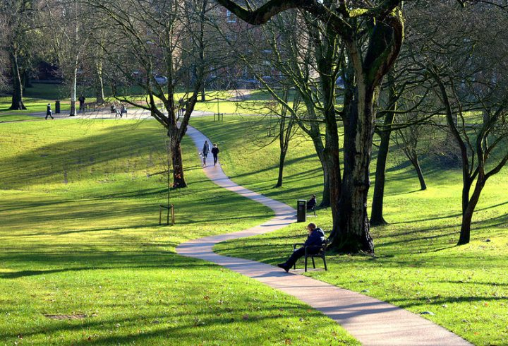 The recently revamped Winckley Square is described as 'possibly the finest Georgian Square in Lancashire' Pic: Tony Worrall