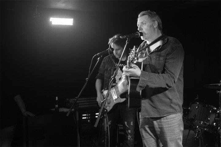 One Side Horse performed songs from their debut album. Pic: Sam Kirwan