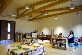 Inside one of the new rooms at Ashbridge Nursery