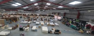 Inside the Emmaus megastore in the former B&Q store