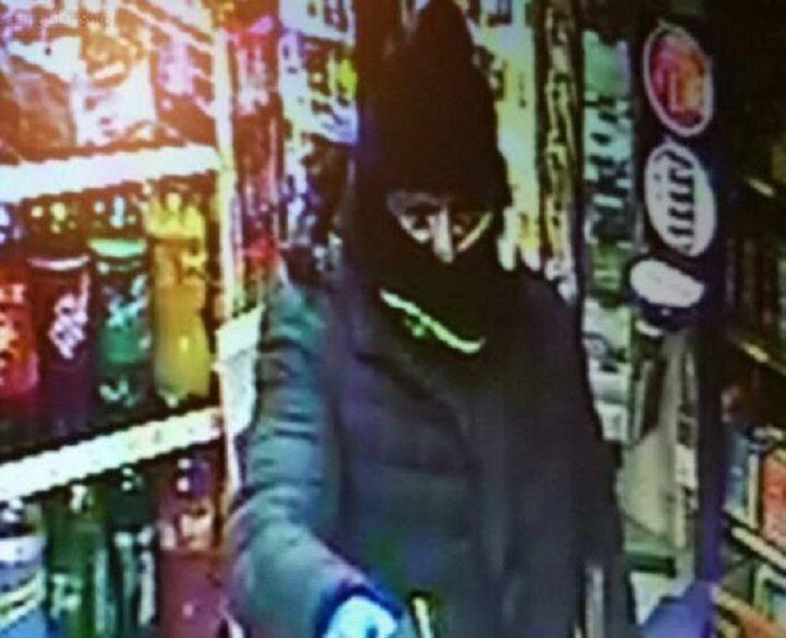 CCTV picture released following the incident in Reddy's store