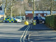Police attended the incident at the school in Broadgate