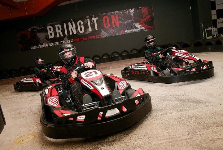 A Team Sport go kart track