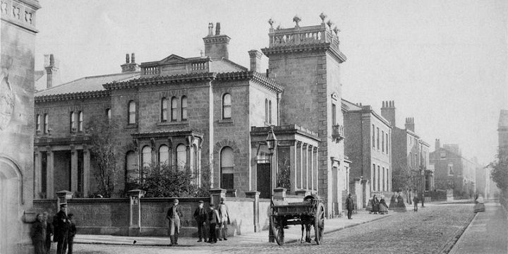Winckley Square in times gone by
