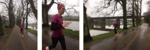 Helen Taylor from Skiggle in training for the half-marathon