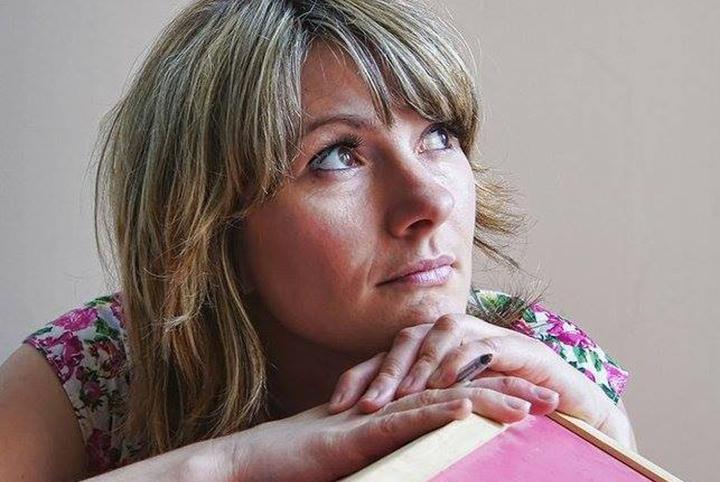 Poet Louise Fazackerley