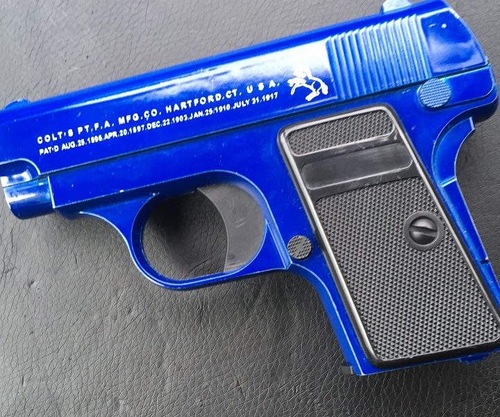 A BB gun was recovered from the scene by police