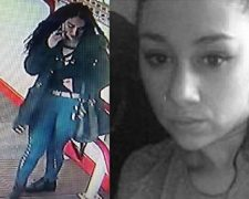 Brittany Williams who was last seen at Preston Station - and another picture of her released by police