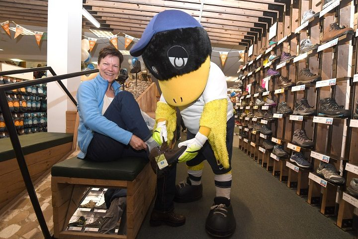 Deepdale Duck tries out for a new career