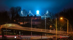 Night game at Deepdale Pic: Paul Melling