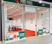 The new Ping Pong Parlour in St George's
