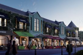 A view of the proposed St George's restaurant complex along Friargate side of the centre