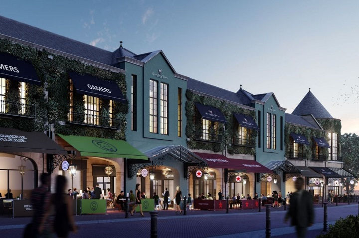 One view of the proposed St George's restaurant complex along Friargate side of the centre