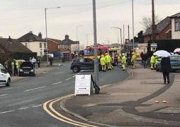 Emergency services at the scene in Tag Lane Pic: ingolwhite
