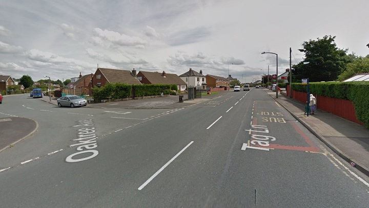 Junction of Tag Lane and Oaktrees Avenue Pic: Google