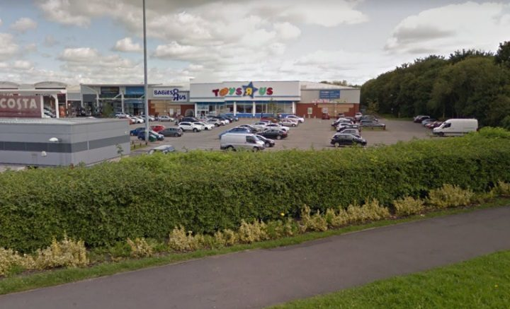 The Toys R Us store at Preston had initially not been included in the store closures Pic: Google