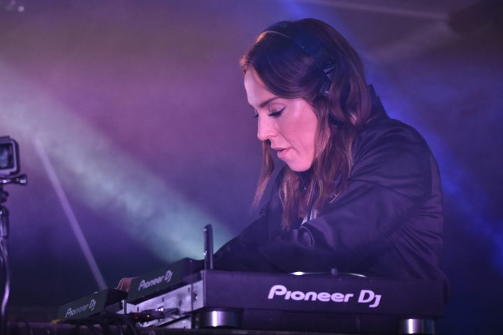 Former Spice Girl Mel C was behind the decks