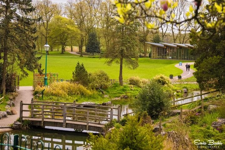 Avenham Park looking lovely in Springtime Pic: Sonia Bashir